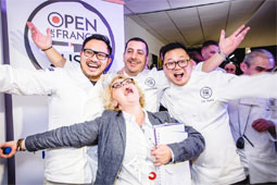 Open de France de Sushi par le chef Anthony KHALIFA