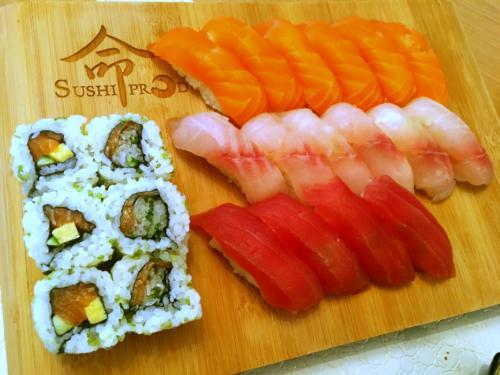 Assortiment de sushi par le chef Anthony KHALIFA